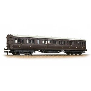 Bachmann 39-614 SECR 60′ Birdcage Composite SE&CR Wellington Brown