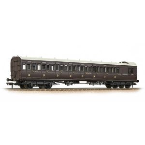 Bachmann 39-624 SECR 60′ Birdcage Brake Third SE&CR Wellington Brown