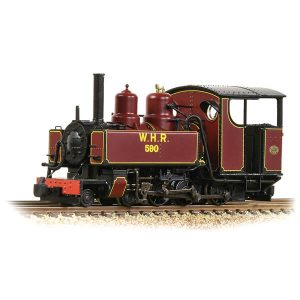 Bachmann 391-031DS Baldwin 10-12-D No.590 Welsh Highland Railway Lined Maroon DCC Sound Fitted