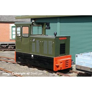 Bachmann 392-026 Baguley-Drewry 70hp Diesel Green
