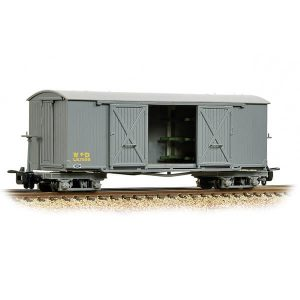 Bachmann 393-025A Covered Ambulance Van WW1 WD Grey