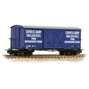 Bachmann 393-029 Covered Goods Wagon Express Dairy Co. Blue