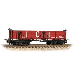 Bachmann 393-056 D Class Open Bogie Wagon ICI Red