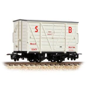 Bachmann 393-127 RNAD Van Statfold Barn Railway White