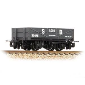 Bachmann 393-150 RNAD Rebuilt Open Wagon Statfold Barn Railway Grey