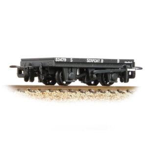 Bachmann 393-176 RNAD Flat Wagon Statfold Barn Railway Grey