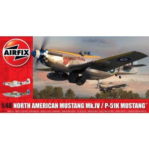 Airfix A05137 North American P-51 Mustang Mk.IV 1:48