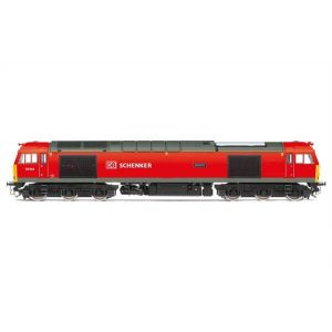 Hornby R3605TTS Class 60 60044 'Dowlow' DB Schenker Red TTS Sound Fitted