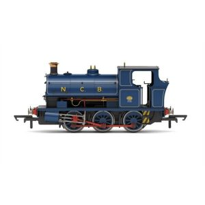 Hornby R3695X Peckett B2 Class No.1455 in National Coal Board lined blue DCC Fitted