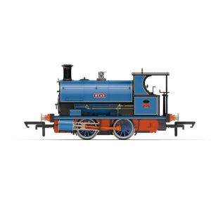 Hornby R3703 Peckett W4 Class No.8 'Bear' in Light Blue