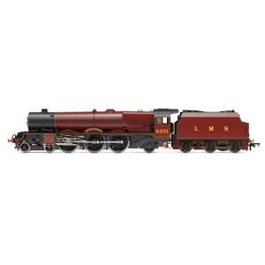 Hornby R3709X Class 8P Princess Royal 6201 'Princess Elizabeth' in LMS Crimson Lake DCC Fitted