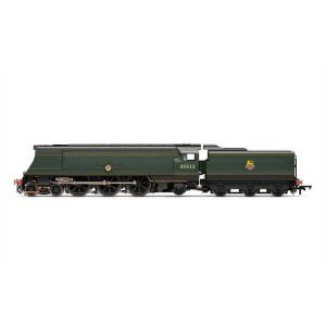 Hornby R3716 Merchant Navy Class 35022 'Holland America Line' BR Lined Green with Early Crest