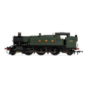 Hornby R3719X Class 5101 2-6-2T 'Large Prairie' 4154 in GWR Green DCC Fitted