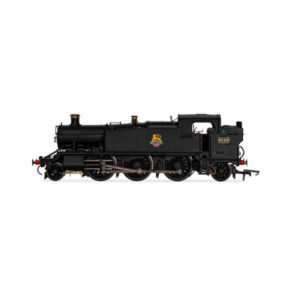 Hornby R3723X Class 61xx 2-6-2T 'Large Prairie' 6145 in BR Black with Early Crest DCC Fitted