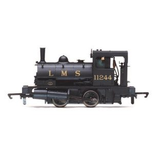Hornby R3727 Class 21 L&Y 'Pug' 0-4-0ST 11244 in LMS Black