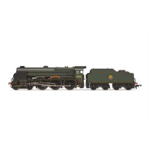 Hornby R3732 Lord Nelson Class 30852 'Sir Walter Raleigh' BR Lined Green with Early Crest