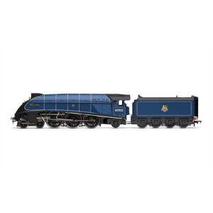 Hornby R3737 Class A4 4468 'Mallard' BR Express Blue with Early Crest