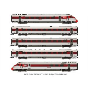 Hornby R3762 Class 800 IEP five car pack in LNER 'Azuma' Livery