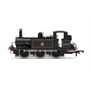 Hornby R3767X Class A1X (Terrier) 32655 BR Black with Early Crest DCC Fitted