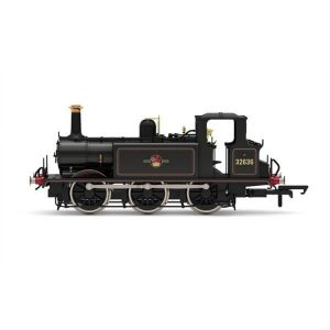 Hornby R3768X Class A1X (Terrier) 32636 BR Black with Late Crest DCC Fitted