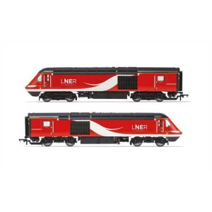 Hornby R3802 Class 43 HST Train Pack LNER (2018) Livery