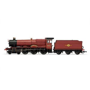 Hornby R3803TTS Class 49xx 5972 'Hogwarts Castle' Hogwarts Railways Red TTS Sound Fitted