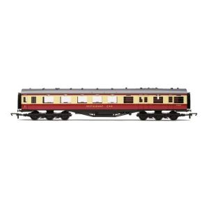 Hornby R4188D Stanier 68″ Dining / Restaurant Car BR Crimson and Cream