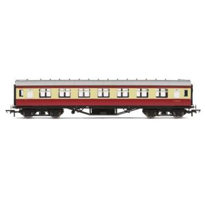 Hornby R4447B BR PIII Corridor First BR Crimson and Cream