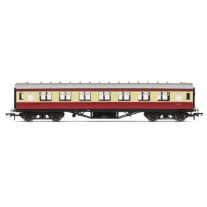 Hornby R4448B BR PIII Corridor First BR Crimson and Cream
