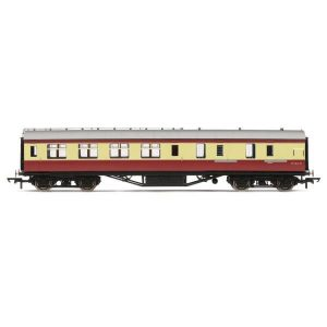 Hornby R4449B BR PIII Corridor Brake Third BR Crimson and Cream
