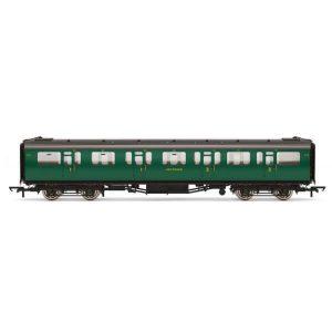 Hornby R4882A Bulleid 59′ Corridor Composite SR Green (Set 973)