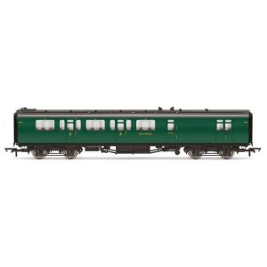 Hornby R4884A Bulleid 59′ Corridor Brake Third SR Green (Set 965)