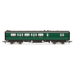 Hornby R4884C Bulleid 59′ Corridor Brake Third SR Green (Set 973)