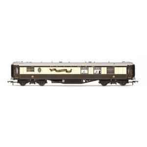 Hornby R4904 Pullman K Type Parlour Kitchen Car 'New Century Bar' Umber and Cream