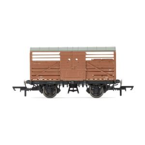 Hornby R6840A Dia. 1530 Cattle Wagon BR Bauxite