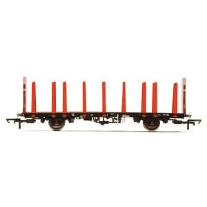 Hornby R6848 OTA Timber Wagon (Tapered Stanchions) EWS
