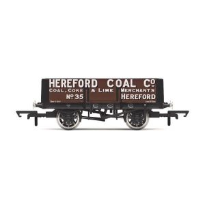 Hornby R6901 5 Plank Wagon Hereford Coal Company No.35