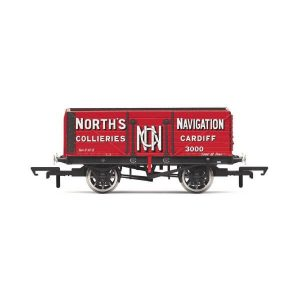 Hornby R6904 7 Plank Wagon North's Navigation No.3000