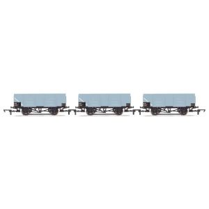 Hornby R6906 21T Mineral Wagon Triple Pack BR Grey