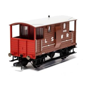Hornby R6911A LSWR 20T Brake Van LSWR Bauxite