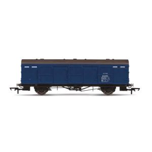 Hornby R6918 Extra-Long CCT Covered Carriage Truck BR Blue