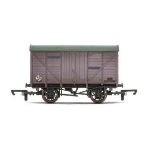 Hornby R6925TTS 12T Ventilated Van with TTS Sound Weathered