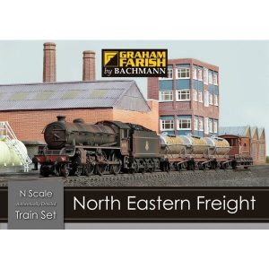 Graham Farish 370-090 North Eastern Freight Train Set