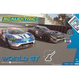 Scalextric C1403 ARC AIR World GT (Mercedes AMG GT3 vs Ford GT GTE)