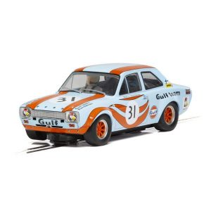 Scalextric C4013 Ford Escort Mk1 No.31 Kemiläinen ETCR Brands Hatch 1972