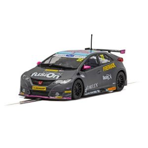 Scalextric C4015 Honda Civic Type R No.22 Chris Smiley BTCC 2018