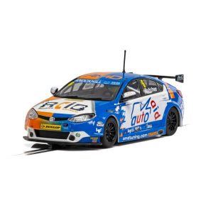 Scalextric C4017 MG6 GT AMD No.6 Rory Butcher BTCC 2018