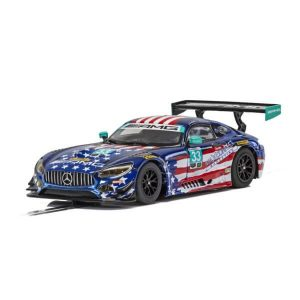 Scalextric C4023 Mercedes AMG GT3 No.33 Bleekemolen / Keating IMSA Watkins Glen 2018