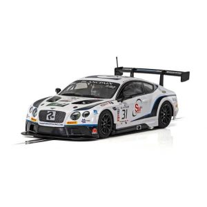 Scalextric C4024 Bentley Continental GT3 No.31 Taylor-Smith / Caygill Blancpain Series Brands Hatch 2018