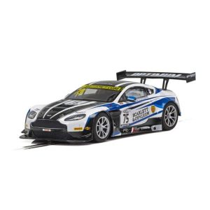 Scalextric C4027 Aston Martin GT3 No.75 Adam / Haigh  British GT Series 2018